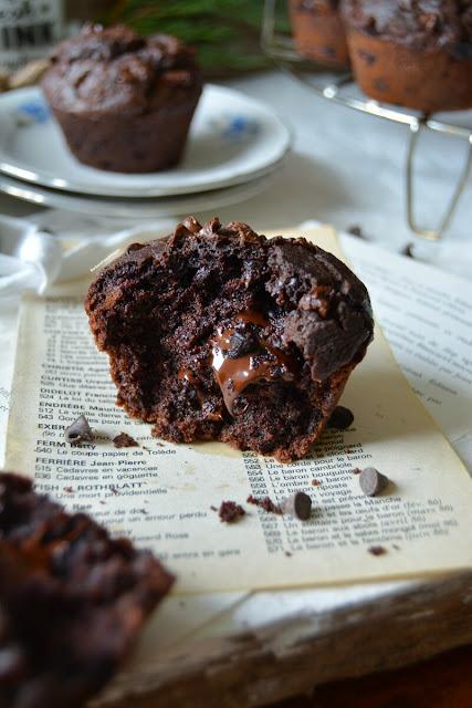 Muffins Vegan au Chocolat Ultra Moelleux en 5 min / Super Moist Vegan Chocolate Muffins in 5 min