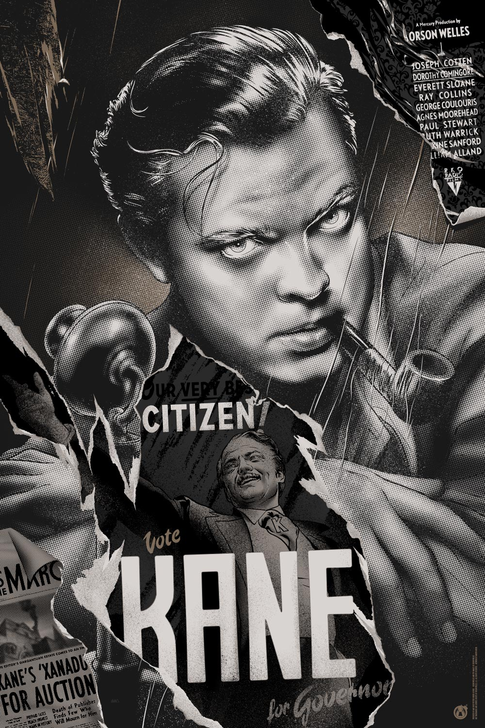 citizen kane a powerful film about The fresh, sophisticated, and classic masterpiece, citizen kane (1941), is probably the world's most famous and highly-rated film, with its many remarkable scenes and performances, cinematic and narrative techniques and experimental innovations (in photography, editing, and sound) its director.