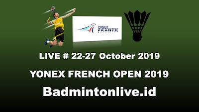 Live Badminton YONEX FRENCH OPEN 2019