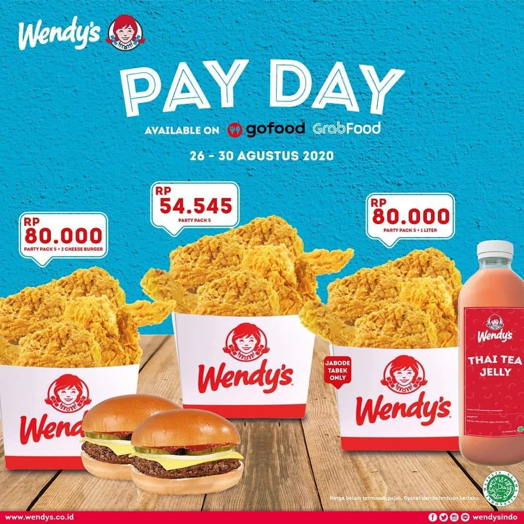 Promo Wendy S Terbaru Payday Promo 26 30 Agustus 2020 Harga Diskon