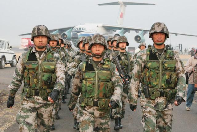 China's PLA Troops Reinforced Russia in Venezuela