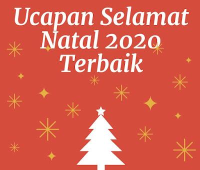 ucapan selamat natal 2020