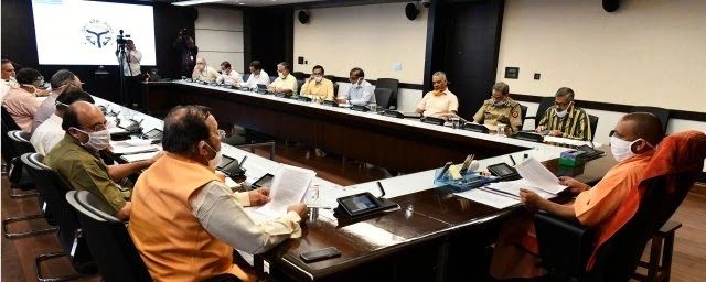 उ0प्र0 मुख्यमंत्री ने राज्य में एल -1 , एल -2 व एल -3 कोविड अस्पतालों में बेड की कुल क्षमता को बढ़ाकर 01 लाख से अधिक करने तथा कोविङ -19 की टेस्टिंग क्षमता के 10 हजार पार करने पर प्रसन्नता व्यक्त की       संवाददाता, Journalist Anil Prabhakar.                 www.upviral24.in  https://www.upviral24.in/2020/05/CM-Yogi-expressed-happiness-over-increasing-the-total-capacity-of-beds-in-L-1-L-2-and-L-3-Covid-Hospitals-in-the-state-to-more-than-1-lakh-and-crossed-10-thousand-testing-capacity-of-Covid-19.html
