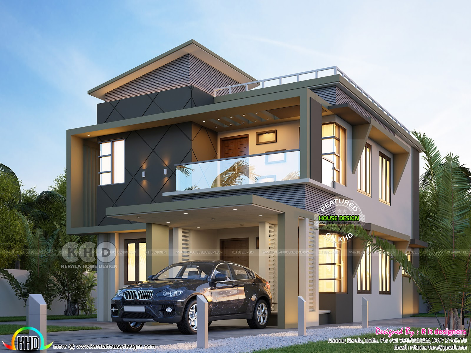 May 2018 Kerala Home Design And Floor Plans
