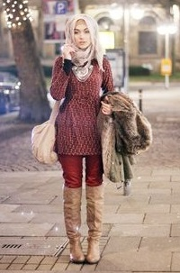 Trend Hijab Alal Korea: Trendy and Casual