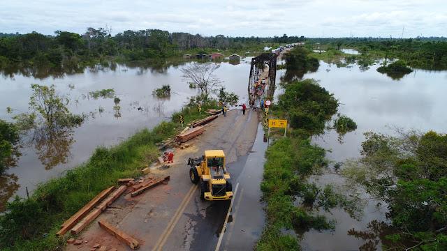 Construção de Pontes na BR-425 em RO depende da atuação da bancada em Brasília