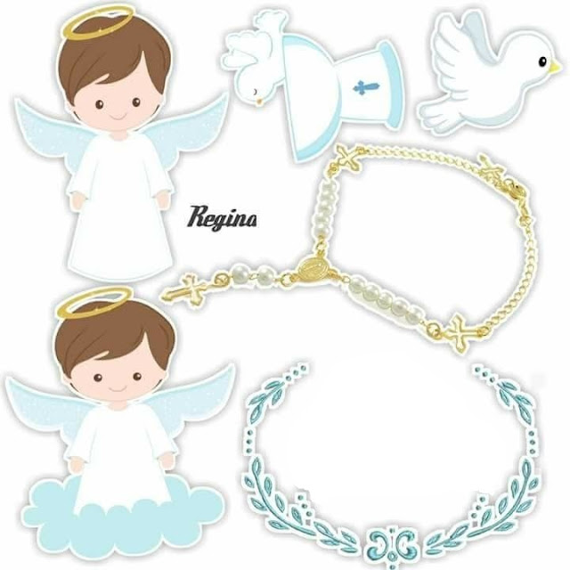 Little Angel: Free Printable Toppers.