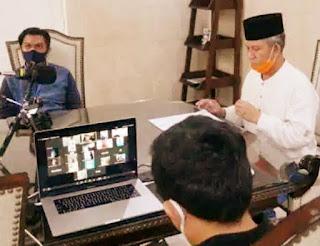 PJ Walikota Makassar' Akan Terbitkan SK Perwali Pemberhentian PSBB  ,Namun Pemutusan Pandemi Covid 19 Tetap Di Jaga Bersama