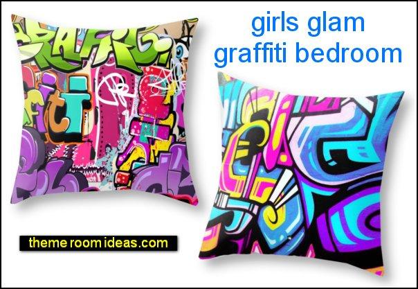 girls graffiti bedroom decor Girl Street Art Graffiti  girls graffiti bedroom design