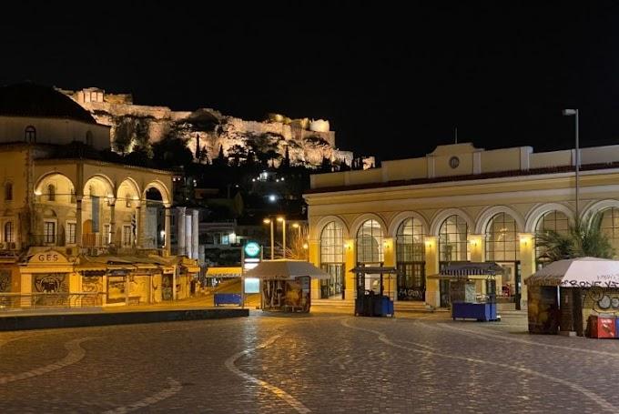 Φωτογραφίες από το έρημο κέντρο της Αθήνας παραπέμπουν σε… αποκάλυψη!