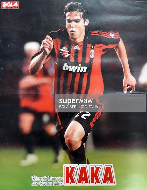 RICARDO KAKA OF AC MILAN UEFA SUPER CUP