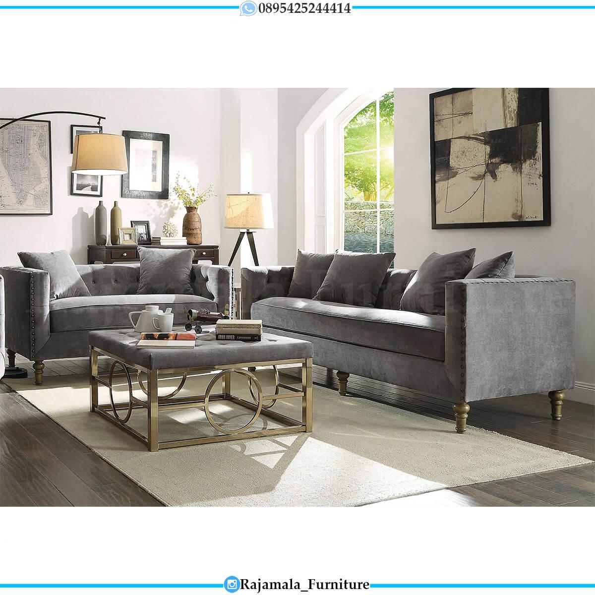 Sofa Tamu Minimalis Modern Furniture Jepara Terbaru Classic Elegant RM-0611