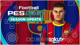 Download PES 2021 PPSSPP Android English Peter Drury Commentary With fixed call name & Update Last Transfer