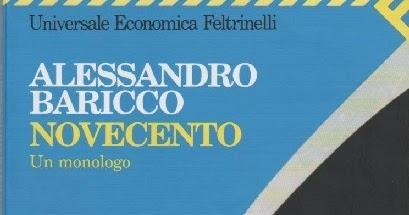 LA BIBLIOTECA DEI SOGNI: Recensione: Novecento di Alessandro Baricco