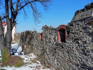 Ужгород. Замок. Оборонительная стена