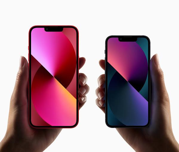 Apple iPhone 13 e 13 mini são oficiais