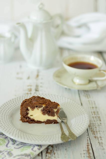 Tarta Rusa de Queso y Chocolate www.recomiendoblog.com