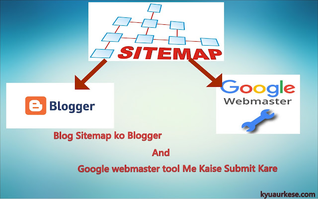 blog sitemap ko blogger and google webmaster tool mai kaise submit kare