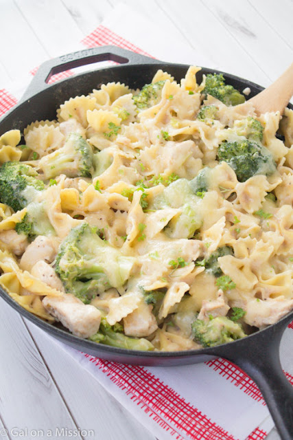 Chicken, Broccoli, & Pasta Skillet Casserole – Easy To Make