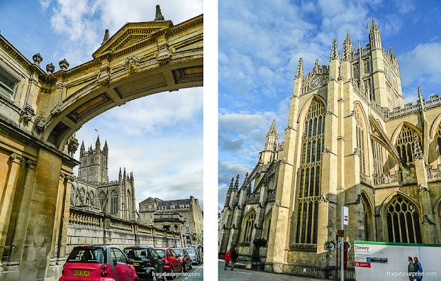 Torre da Abadia de Bath, Inglaterra