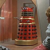 Dr Who & the Daleks Red Dalek 01