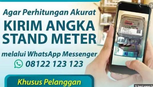 Cara Melapor Kwh Meter PLN Pascabayar Via Whatsapp