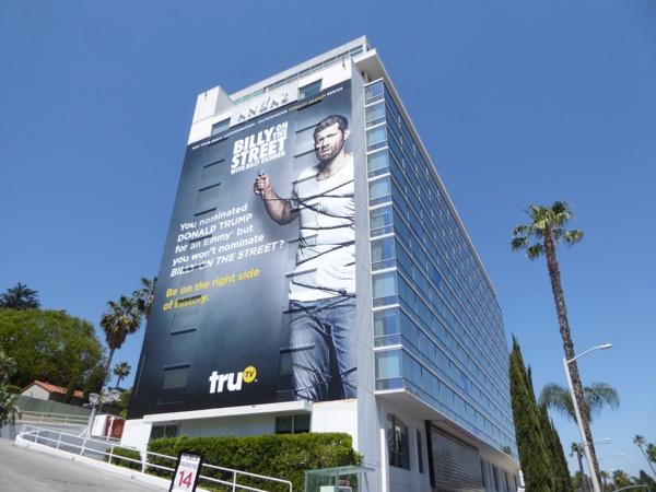 Giant Billy on the Street season 5 Emmy FYC billboard