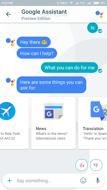 Google Assistant Services BounceGeek