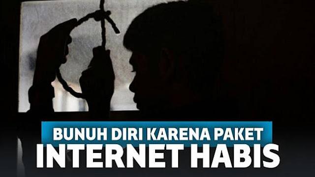 Innalillahi, Paket Internet Habis, Pemuda di Sumbar Gantung Diri