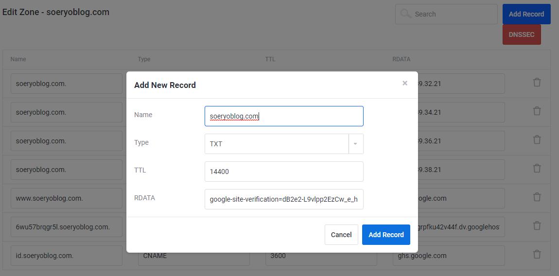 Verifikasi Melalui Clientzone / Clientarea (Login Ke Member Area Domain)