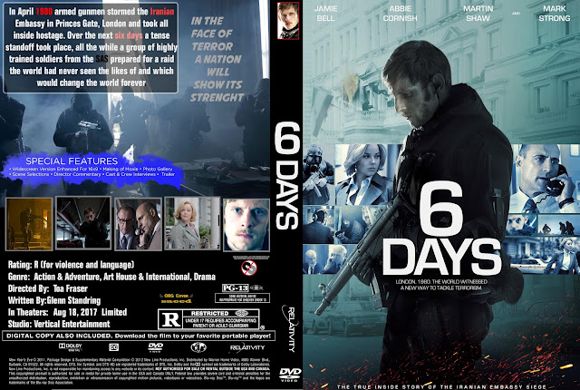 6 Days DVD Cover