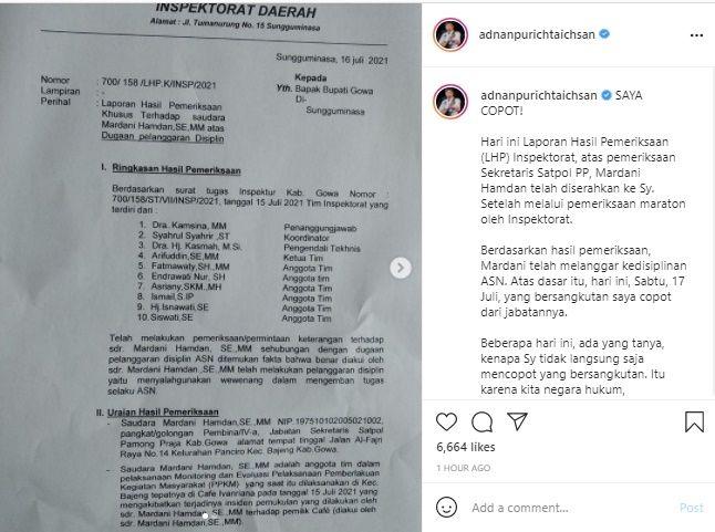Tegas! Bupati Gowa Resmi Pecat Oknum Satpol PP yang Pukul Wanita Hamil