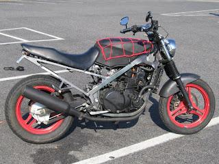 Pictures of Kawasaki Ninja 650r Streetfighter - #rock-cafe