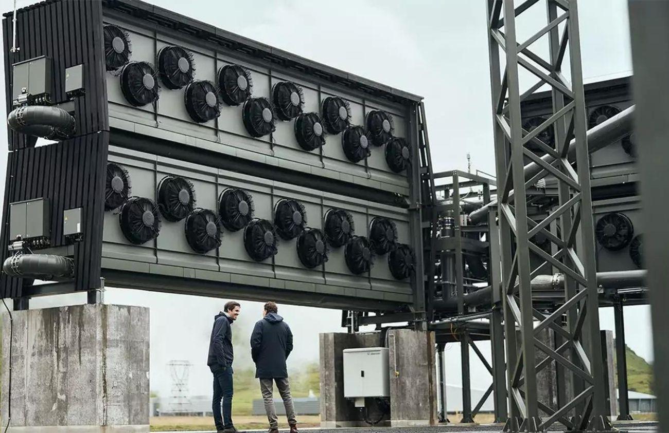 Usina para capturar CO2 da Islândia é a maior do mundo