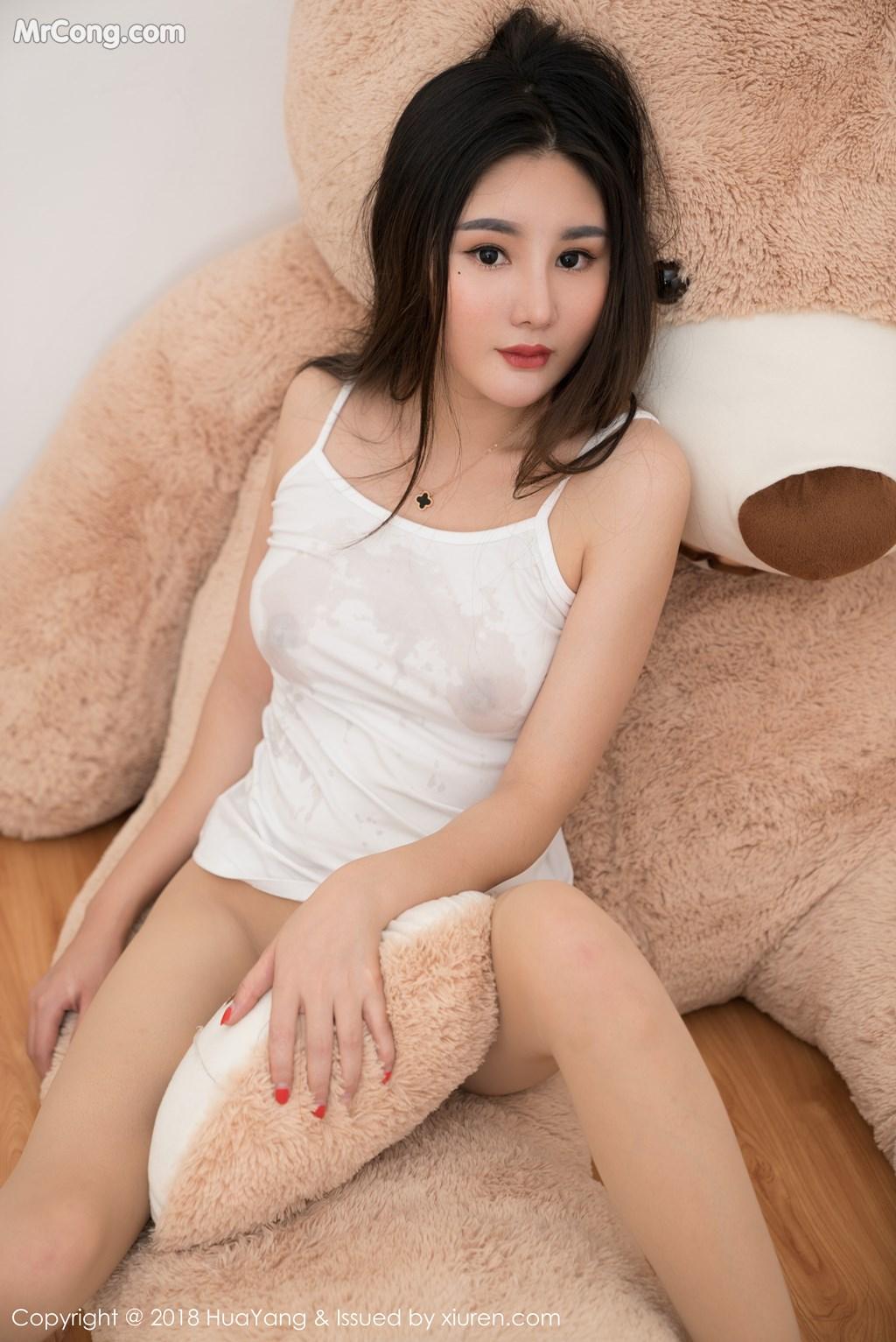 Image HuaYang-2018-03-02-Vol.034-Xiao-Tian-Xin-Candy-MrCong.com-038 in post HuaYang 2018-03-02 Vol.034: Người mẫu Xiao Tian Xin (小甜心Candy) (41 ảnh)