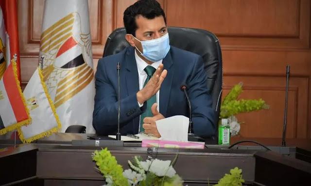وزير الرياضة يعلن انسحاب منتخب الشباب من بطولة شمال أفريقيا