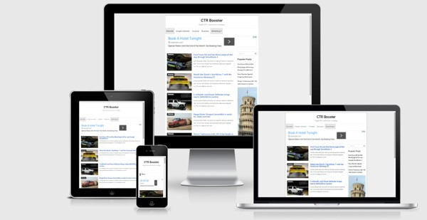CTR Booster Responsive Blogger Templates