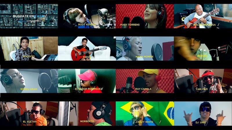 Varios Artistas - ¨Quédate en casa¨ - Videoclip - Autor: Jhonan Romeu Lores - Director: Wicho. Portal Del Vídeo Clip Cubano. Música cubana. Cuba.