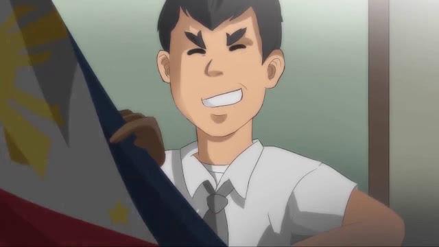 Rody Duterte Japanese Anime