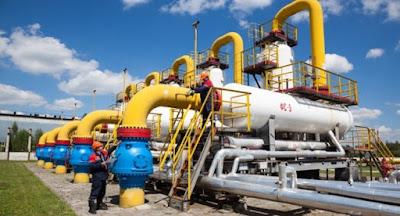 Стоимость импортируемого газа упала ниже $90/1000 м³