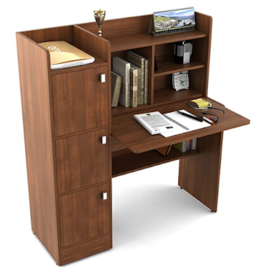 Spacewood Winner Study Table With Complete Table Needs and Easy Accessibility of Stuff