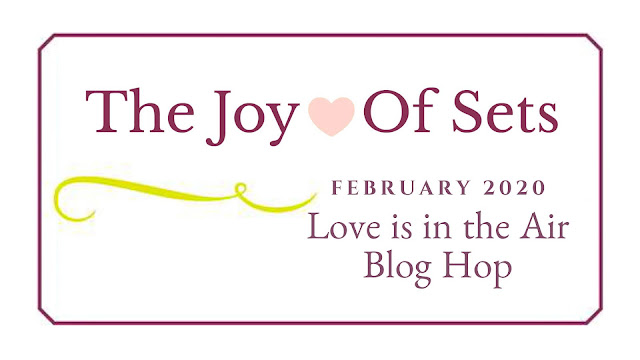 Nigezza Creates with Stampin' Up! for Joy Of Sets February Blog Hop: Love Is In The Air