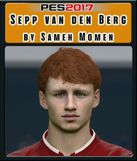 PES 2017 Faces Sepp Van Den Berg by Sameh Momen