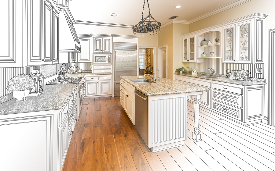 Kitchen remodeling new kitchen top cabinet in Hayward CA