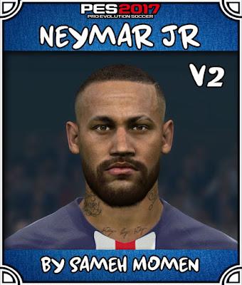 PES 2017 Neymar Jr. Face by Sameh Momen