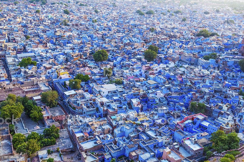 Голубой город Джодхпур. Штат Раджастан