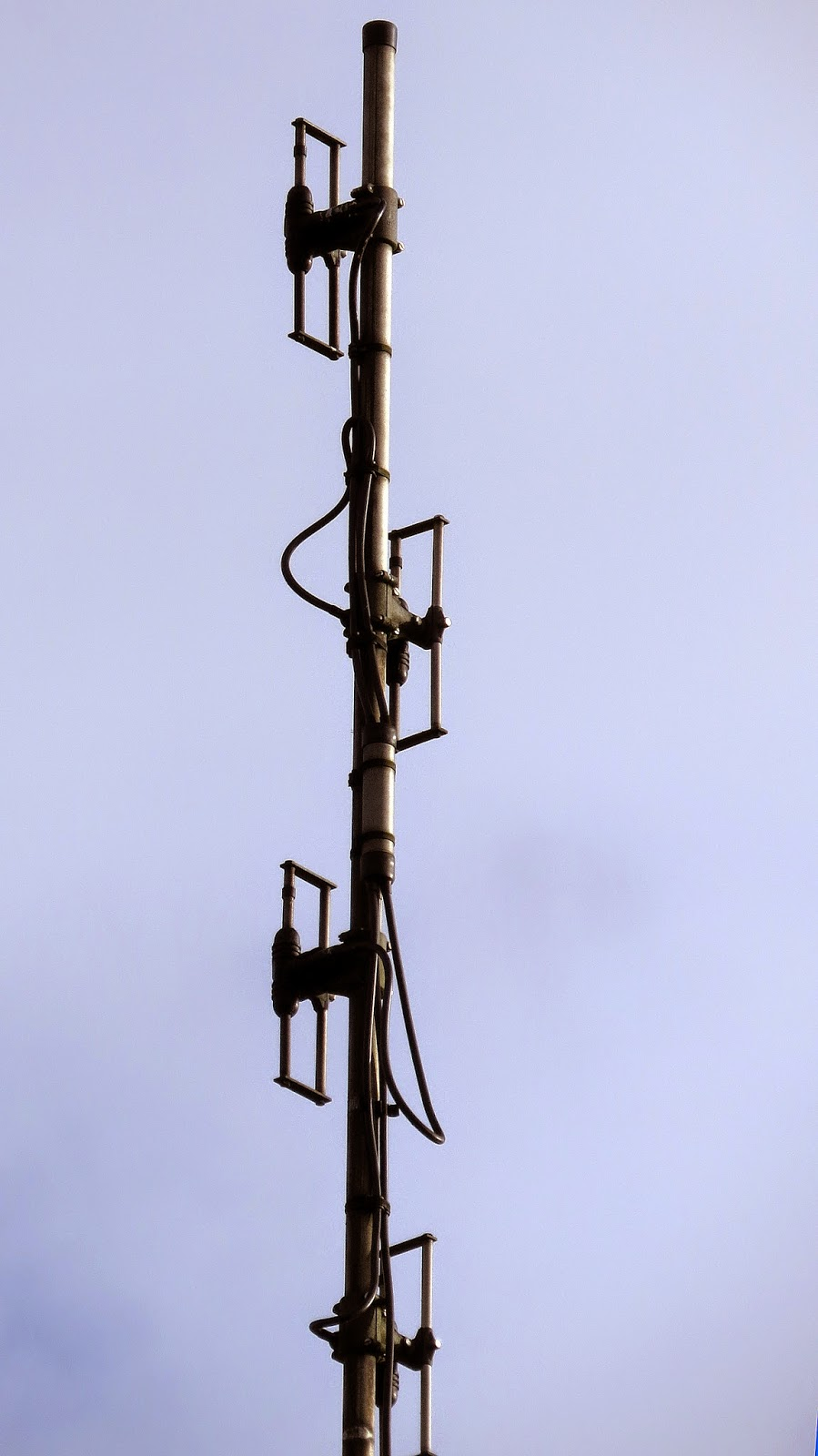 Folding Antenna Mast