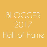 Hall of Fame : Blogger 2017