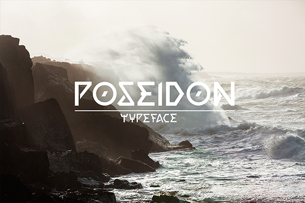 Download Gratis Font Terbaru September 2015 - Poseidon Typeface Free
