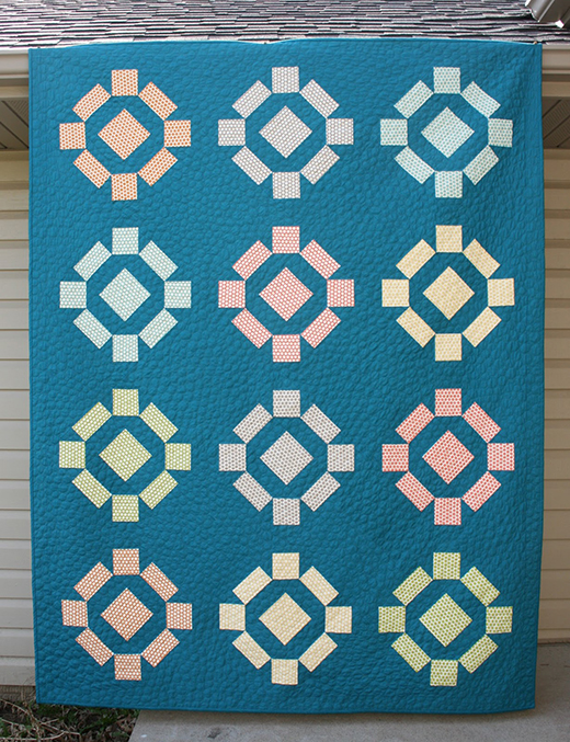 Rolling Stone Quilt Free Pattern